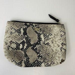VICTORIA'S SECRET makeup bag snakeskin look